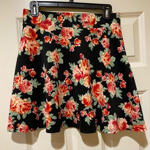 Cute and fun floral skirt